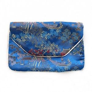 [Vintage] Asian Silk Embroidered Coin Purse